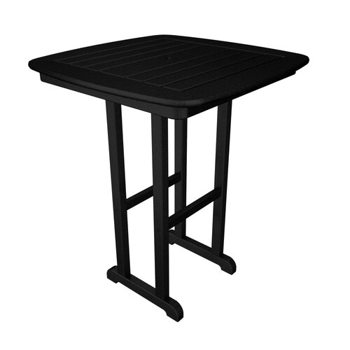 POLYWOOD® Nautical Square Counter Bar Table
