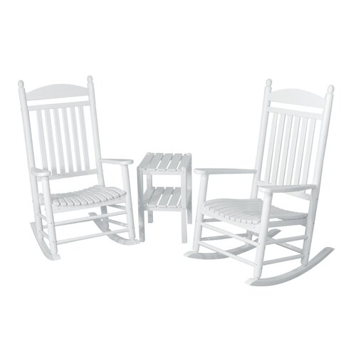 POLYWOOD® Jefferson 3 Piece Rocker Set