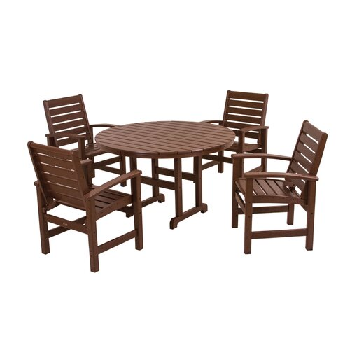 POLYWOOD® Signature 5 Piece Dining Set