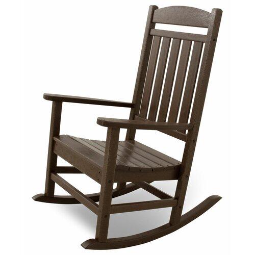 POLYWOOD® Ivy Terrace Rocking Chair & Reviews  Wayfair