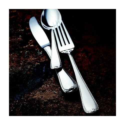 Gorham Ribbon Edge Frosted 5 Piece Flatware Set