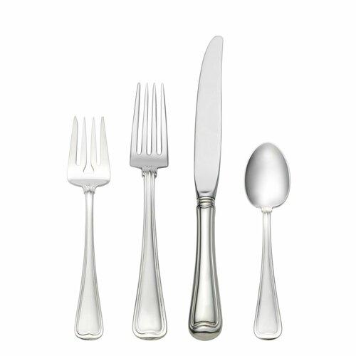 Gorham Sterling Silver Old French 4 Piece Dinner Flatware Set