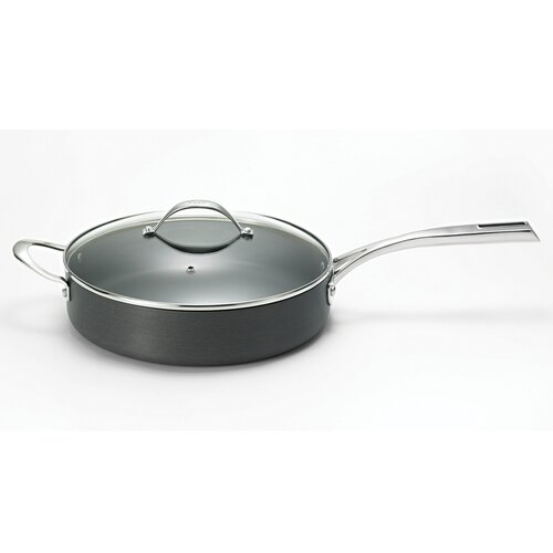 "Cat Cora by Starfrit 11"" Hard-Anodized Deep Fry Pan"