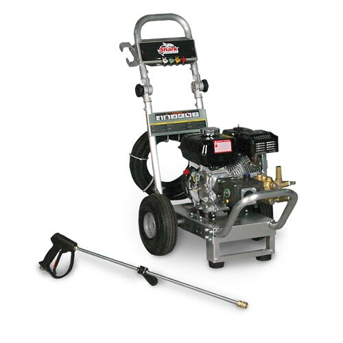 Shark Pressure Washers Aluminum Series 2.5 GPM Honda GX200 Direct Drive Cold Water Pressure Washer