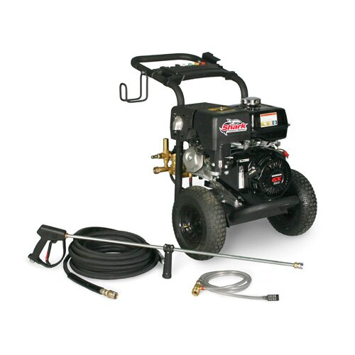 Shark Pressure Washers Hammerhead Series 3.8 GPM Honda GX390 Cold Water Pressure Washer