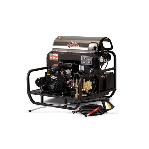 Shark Pressure Washers SSG Series 4.7 GPM Honda GX630 Belt Drive Hot Water Pressure Washer