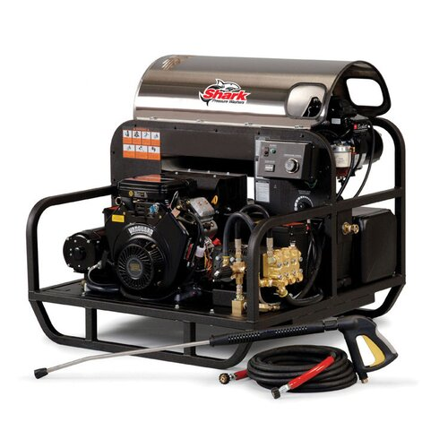 SSD Series 5.6 GPM Kohler Electric Start Hot Water Pressure Washer