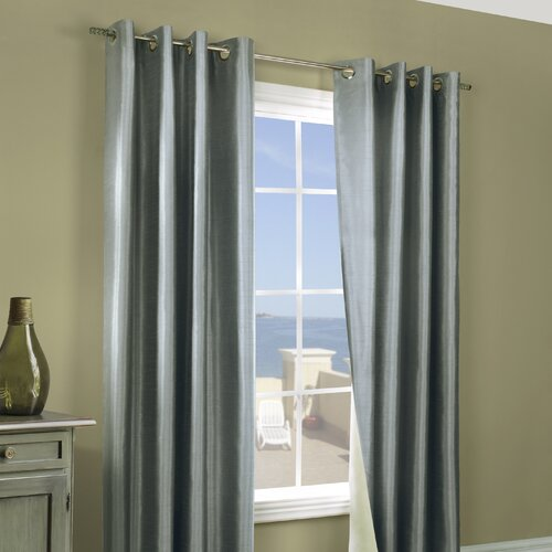 Commonwealth Home Fashions Miller Grommet Curtain Pair