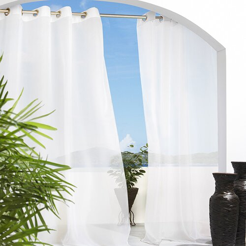 Commonwealth Home Fashions Outdoor Décor Escape Grommet Curtain Panel I