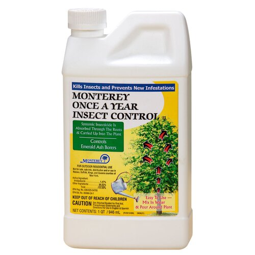 Monterey Once A Year Insect Control II Insecticides Jug