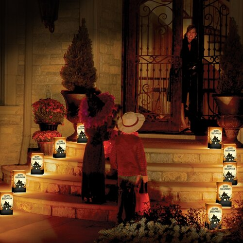 Luminarias Haunted house 10 Count Electric Luminary Kit