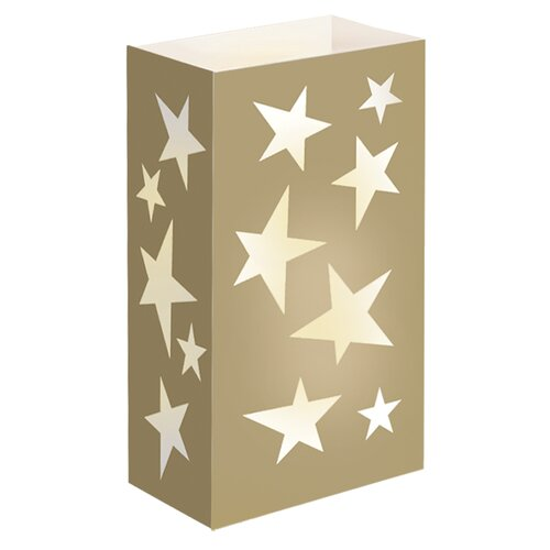 Stars Luminaria Bags (Set of 24)