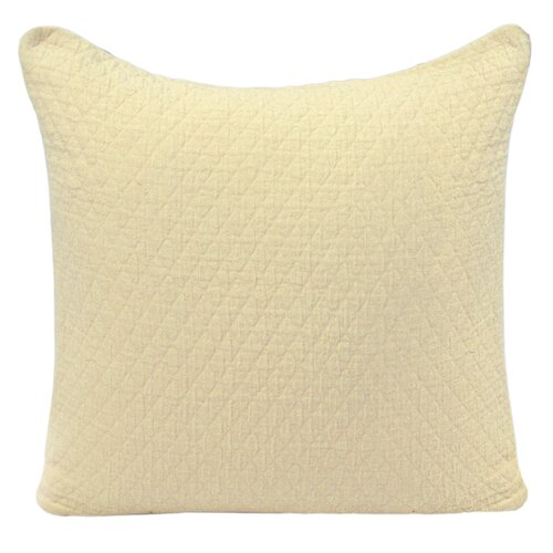 Park B Smith Ltd Ultra Spa Cotton Quilted Diamond Decorative Pillow