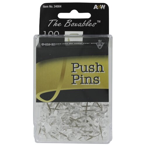 A&W Push Pins (100 Count)