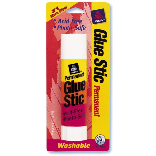 Avery 1.27 Oz Permanent Glue Stic