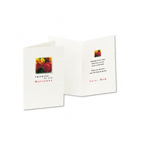 Avery Personal Creations Printable Textured Cards/Envelopes, 30/Box