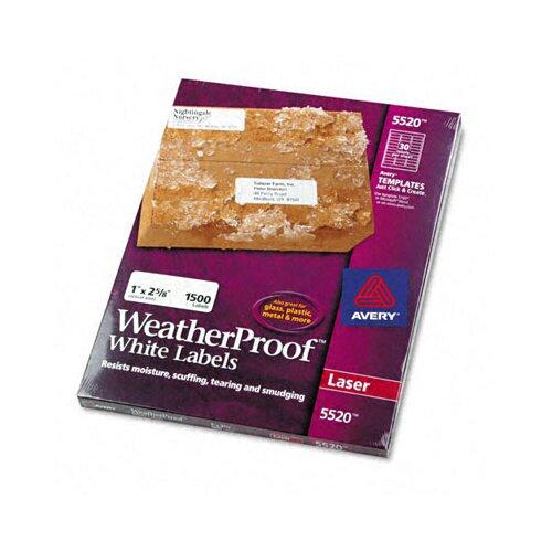 Avery WeatherProof Durable Labels