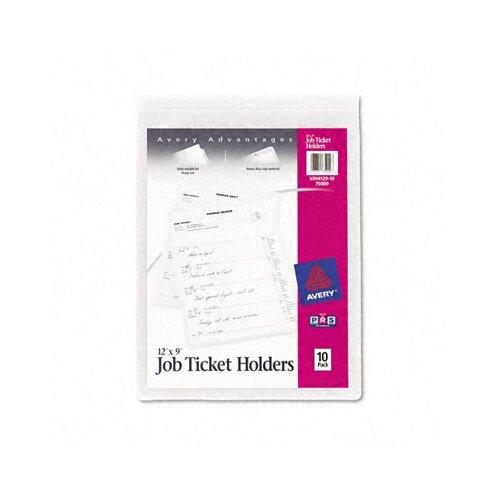 Avery Job Ticket Holders, 10/Pack