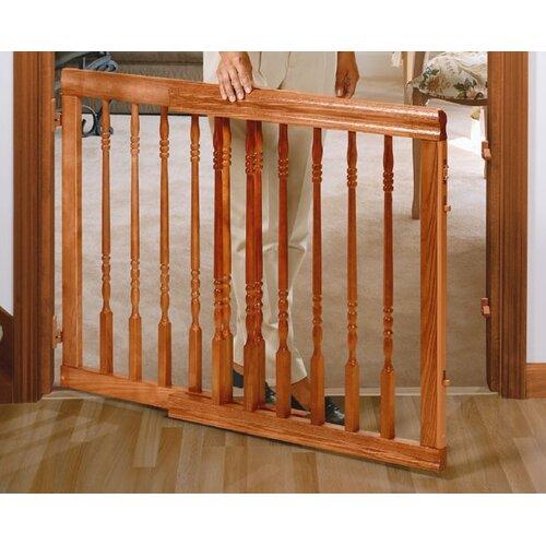 Evenflo Home Decor Wood Swing Gate