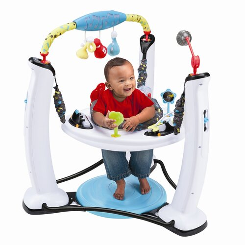 Evenflo ExerSaucer Jam Session Jump and Learn Stationary Jumper