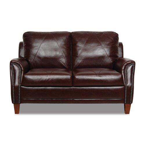 Austin Leather Modular Loveseat