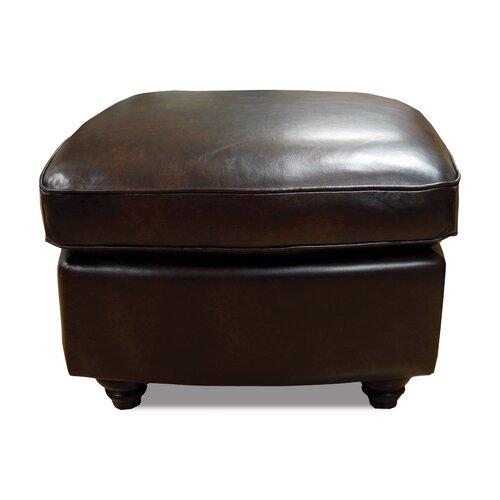 Bentley Leather Ottoman
