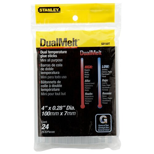 CenturySpring 24 Count Mini Dualmelt™ Glue Sticks GS10DT