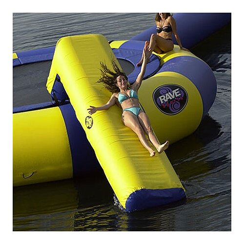 Rave Sports Large Aqua Slide Water Trampoline Attachment