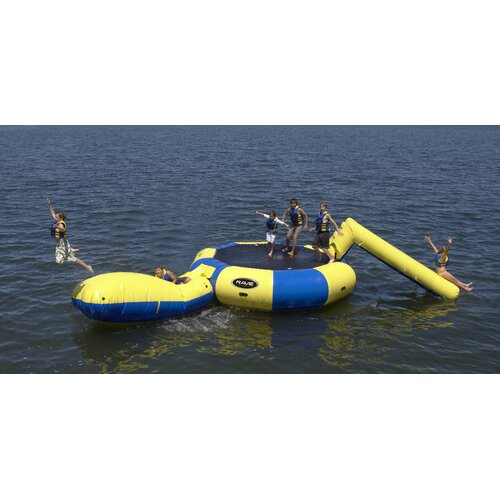 Rave Sports Bongo 20 Water Bouncer with Slide and Launch