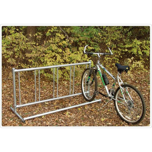 SportsPlay Permanent Single Entry Bike Rack
