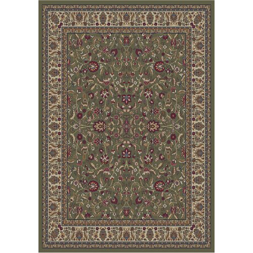 Gem Kashan Green Rug