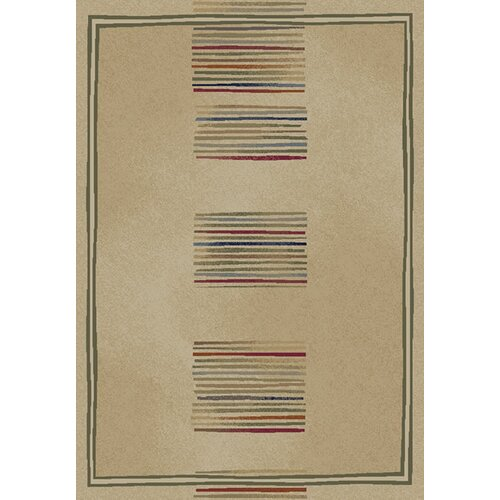 Concord Global Imports Gem Stripes Ivory Rug