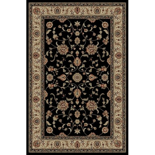 Concord Global Imports Gem Marash Black Rug