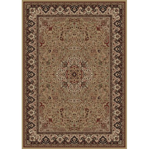 Concord Global Imports Oriental Classics Isfahan Gold Rug