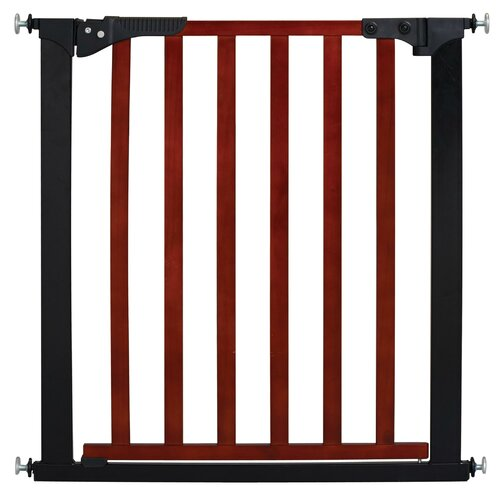Designer Gateway Wood and Metal Pressure Baby Gate