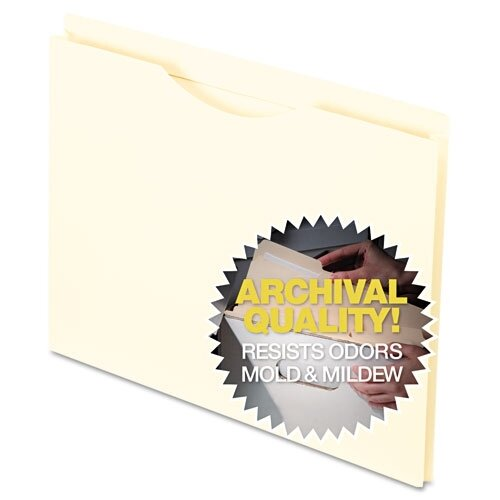 Esseltependaflex Reinforced Manila File Jacket, 50/Box