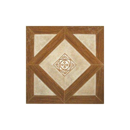 "Home Dynamix 12"" x 12"" Vinyl Tiles in Madison Woodtone/Stone"
