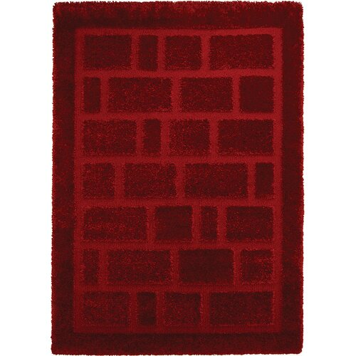 Home Dynamix Structure Red Rug