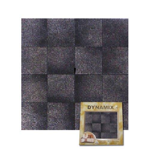 "Home Dynamix 12"" x 12"" Vinyl Tile in Grey Marble Cubism"