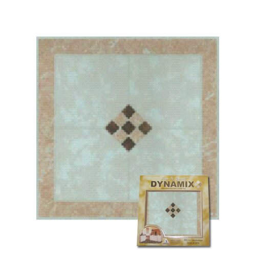 "Home Dynamix 12"" x 12"" Vinyl Tile in Small Checkerboard"