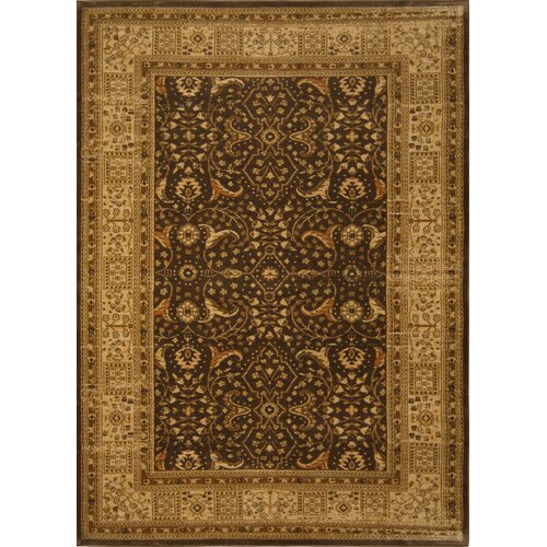 Antiqua Brown/Cream Rug