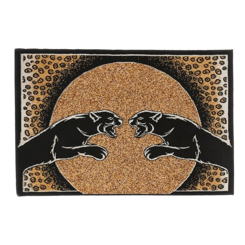 Home Dynamix Zone Panther Animal Print Novelty Rug