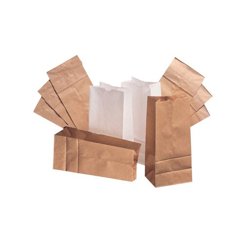 "General 4 5"" Kraft Paper Bag in Brown"