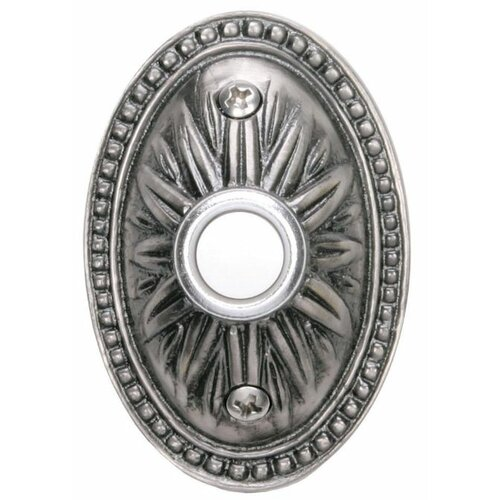 Heathco Oval Sunburst Doorbell