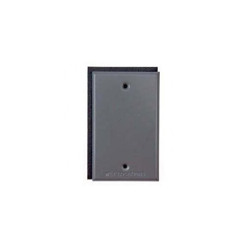HubbellRaco Single Gang Blank Switch Plate Cover