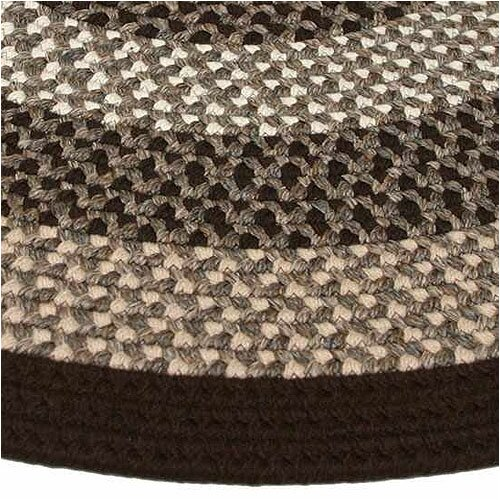 Thorndike Mills Green Mountain Fudge Brown Multi Runner Rug