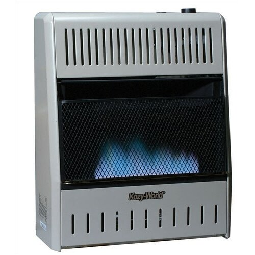 30,000 BTU Fan Forced Gas Wall Space Heater