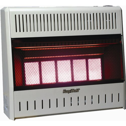 KozyWorld 30,000 BTU Infrared Wall Space Heater