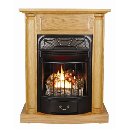 Windsor Dual Fuel Vent Free Gas Fireplace