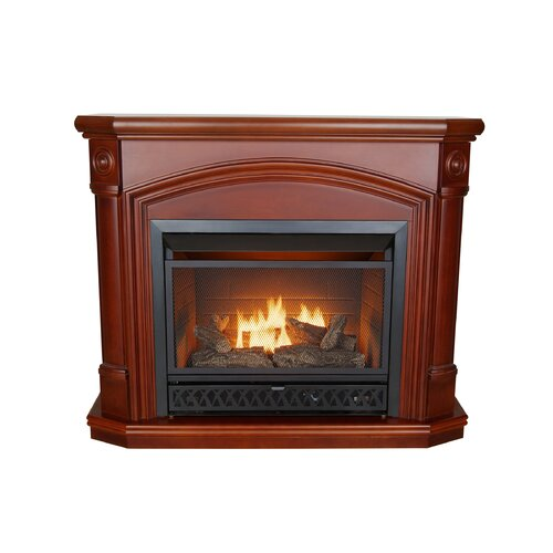 KozyWorld Kensington Dual Fuel Vent Free Gas Fireplace